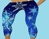 blue snwflke tights