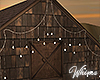 Barn Wedding Lights