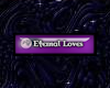 E love badge