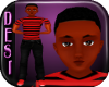 Dk Jonathon TEEN Blk Red