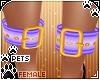 [Pets]Anklecuff | purple