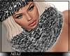 Fur Scarf Grey