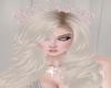 Peach-Silver Rose Crown