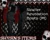 Skull Revoltion Boots M