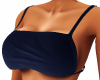 Blue Backless Top