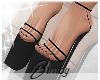 Black 'kini Heels