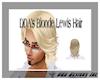 DDA's Blonde Lewis Hair