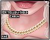 18k Gold Chain Yellow