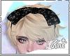 Black Glitter Bow M/F