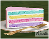 |K 🦄 Cake Slice
