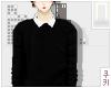 |쿠키| Black Sweater