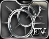 EV SpikeD Hoops Silver 3