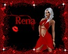 Sexy red Kiss Wrap Dress