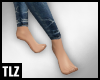 [TLZ]Slim Bare Feet
