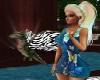 alby blu butterfly