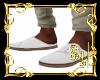 *Boho White Shoes