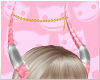 ~R~ Lamia Horns Pink