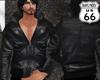 SD Leather Jacket Zipped