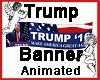 Trump Banner Animated