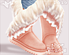$ Winter Boots - Peach