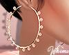 Pinki Gold Hoop Earrings