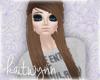 viola hair   brown