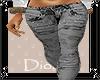 [DZ] black batik jeans