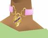 collar ~ princess pink