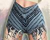 N. Denim Shorts