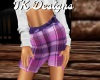 TK-Purple Plaid Shorts F