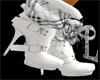PimpTRESS Grey Boots