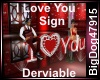 [BD] I LoveYouSign