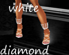 white diamond shoes
