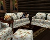 Vintage Fall Sofa Set