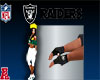 Raiders Men Rider Gloves