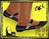 :KiD: Black Flat Shoes