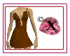 seXie -- Chocolate Dress