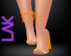 Dottie heels orange