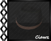 ☾ Black Couture Hat