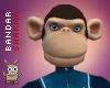 (BS) Female Monkey Head