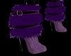 Grape Fur Boots