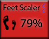 [NaiT] Feet Scaler 79%