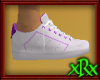 Sneakers White w/Purple