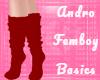 Femboy Socks - Red
