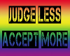 Don't Judge Pride Poster