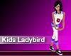 (M) Kids Ladybird Purple