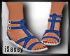 -S- Kid Cyan Sandal