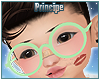Kids. Green Glasses