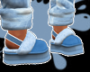 cute blue slippers++