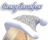 Sparkle Santa - Silver